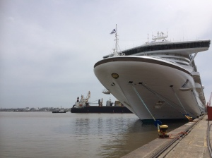 Meeting the ship in Buenos Aires