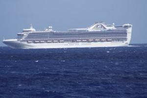 Ship at sea...