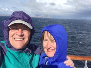 Selfie rounding the Cape
