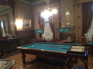 museum billards room