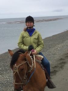 s riding beach