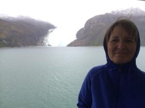 sandy glacier