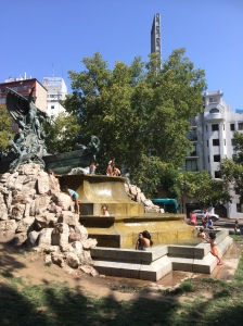 German Fountain in Parque Forestal
